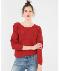 Pull col rond rouge, Femme, Taille M -PIMKIE- MODE FEMME