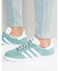 Adidas Originals - Gazelle BB5494 - Baskets - Vert - Gris