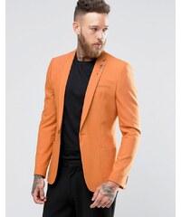 ASOS - Superenger, modischer Blazer in Orange - Orange