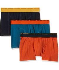 JACK & JONES Herren Boxershorts Jjaccolor Basic Trunks 3 Pack, 3er