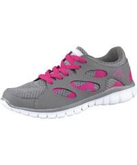 Große Größen: Kappa Fox Light Sneaker, Grau-Pink, Gr.37-41