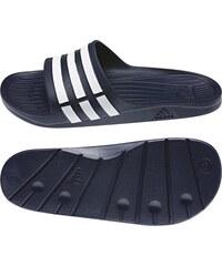 Pantofle Adidas Duramo Slide 46 TMAVĚ MODRÁ