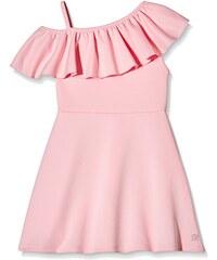Blush Mädchen Kleid One Shoulder Frill