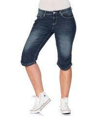 sheego Denim Schmale Stretch-Capri-Jeans