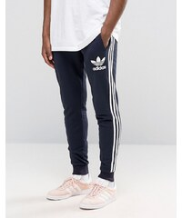 adidas Originals - AY7783 - Pantalon de jogging motif trèfle - Bleu