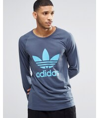 Adidas Originals - AY8002 - T-shirt fonctionnel à manches longues - Bleu