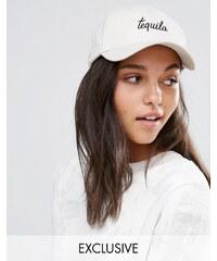Adolescent Clothing - Tequila - Casquette de baseball brodée - Taupe