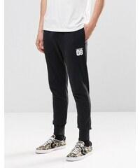 Converse 08 - 10002143-A02 - Pantalon de jogging - Noir - Noir