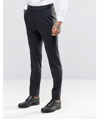 Hart Hollywood by Nick Hart - Schmale, elegante Flanellhose - Grau