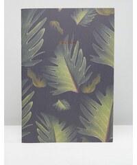 Ohh Deer - Carnet A4 imprimé feuilles - Multi