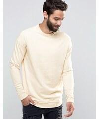 Only & Sons - Sweatshirt mit Rundhalsausschnitt - Beige
