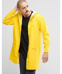 Rains - Longue veste imperméable - Jaune