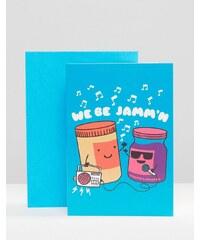 Gifts We Be Jamm'n - Karte - Mehrfarbig