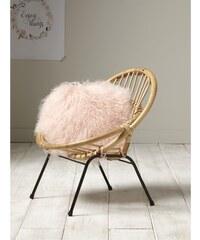Cyrillus Taie de coussin en laine - rose