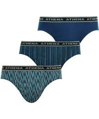 Athena Tonic - Lot de 3 slips - bleu