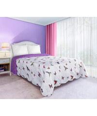 Přehoz na postel SPIRIT 170x210 cm bílá Mybesthome
