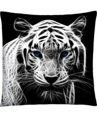 Polštář s motivem tygra 01 Mybesthome 40x40 cm Varianta: Povlak na polštář, 40x40 cm