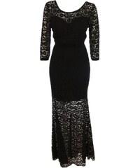 Made in Italy Dámské dlouhé krajkové šaty