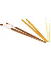 Bambum Sada 5 bambusových párů hůlek Fettucini