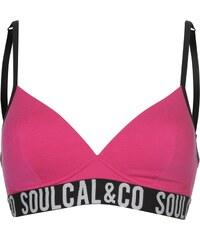 SoulCal Cotton Jaquard Bra dámské Bright Pink