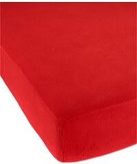 bpc living Drap-housse Flanelle rouge maison - bonprix