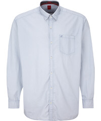 s.Oliver Regular: Hemd mit Wabenmuster
