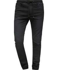 Nana Judy Jeans Relaxed Fit worn classic black distressed