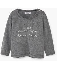 MANGO BABY T-Shirt Mit Schriftzug