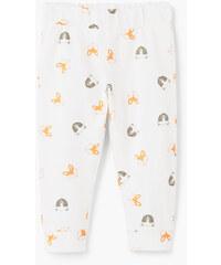 MANGO BABY Pantalon Imprimé Coton