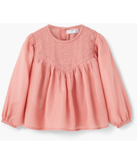 MANGO BABY Blouse Coton Broderies