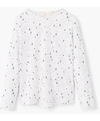 MANGO KIDS T-Shirt Jaspé Imprimé