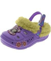 Beppi Dívčí sandály s kožíškem Baby Boop - fialové