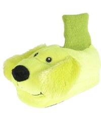 Beppi Dětské svítící bačkůrky Pejsek - žluté