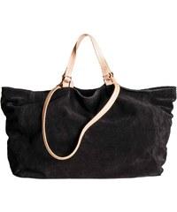 H&M Semišová nákupní taška