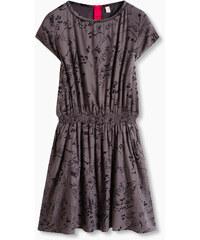 Esprit Splývavé šaty s levhartím potiskem
