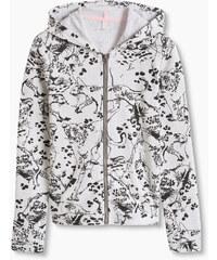 Esprit Mikina s kapucí a levharty, bavlněná směs