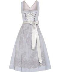 Silk & Pearls - Dirndl kurz mit Spitzenschürze für Damen