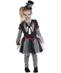 Rubies Dívčí šaty skeleton - 116