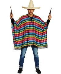 Rubies Mexické poncho - STD 48 - 54