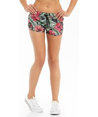 Lucky Dice Summer Girl Shorts Flowers Multicolor