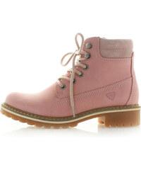 Světle růžové kotníkové boty Tamaris 25242