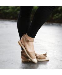 Lesara Offener Ballerina mit Tassel - 35