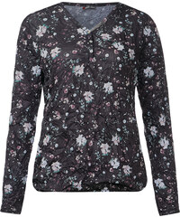 Street One - Tee-shirt avec imprimé floral Gunia - Black