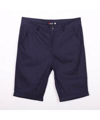 Re-Verse Chino-Shorts mit Beinumschlag - Dunkelblau - 31