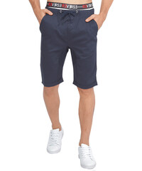 Re-Verse Chino-Shorts mit Kordelzug - Dunkelblau - 31