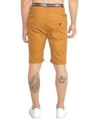 Re-Verse Chino-Shorts mit Kordelzug - Camel - 31