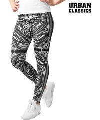 Urban Classics Leggings im ornamentalen Design - L