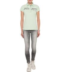 Světle zelené polo tričko s nápisem|XS Soccx 261654