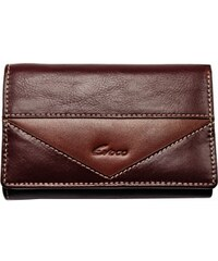 Evoco Dámská kožená peněženka 61418 hnědá
