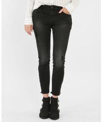 Jean skinny zippé noir, Femme, Taille 32 -PIMKIE- MODE FEMME